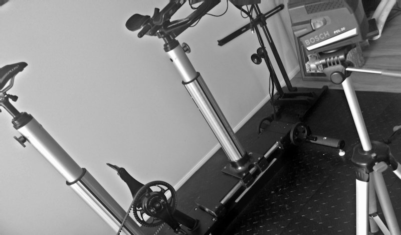 Bike fit equipment